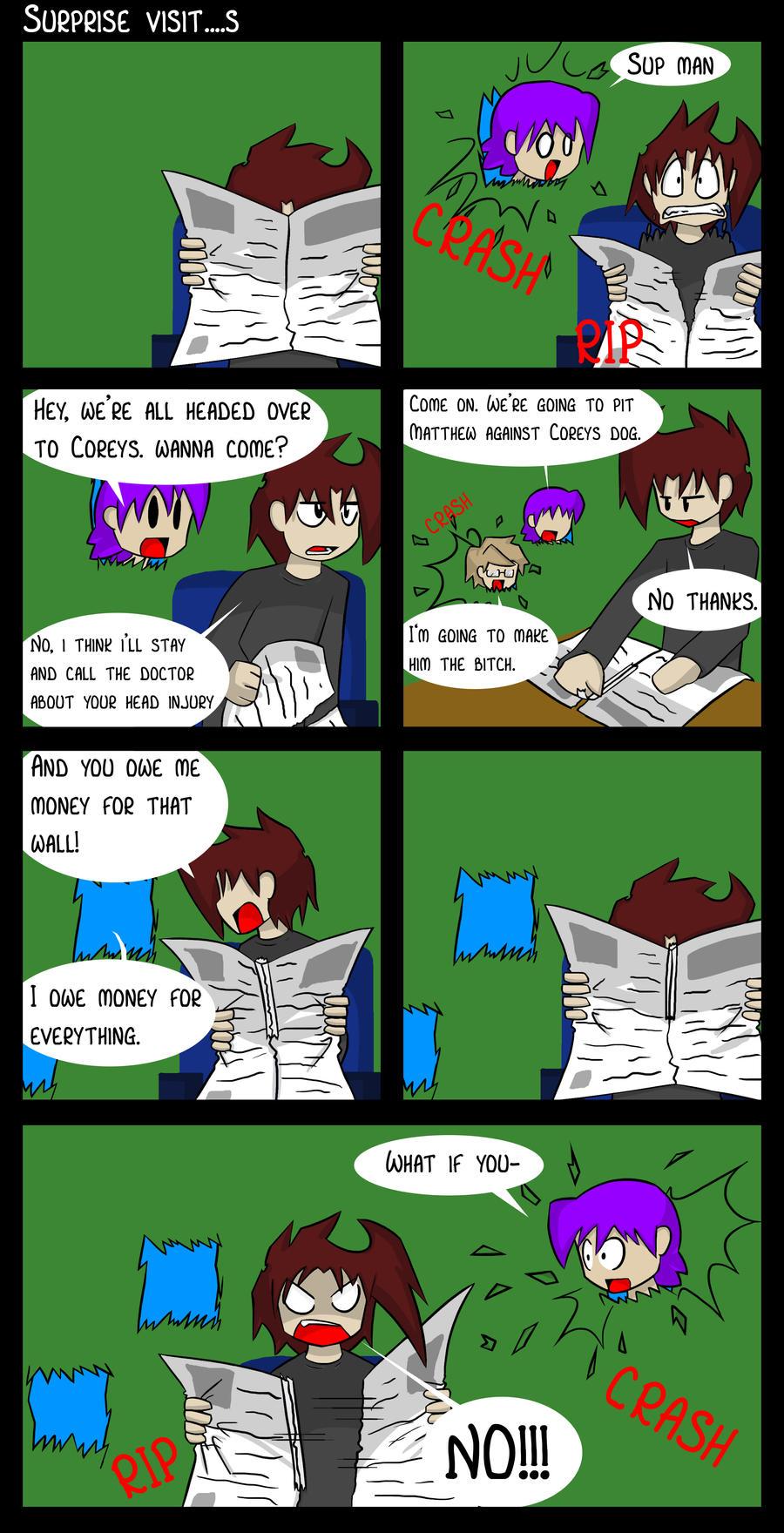 Comic Book Book 3 by DukeStewart