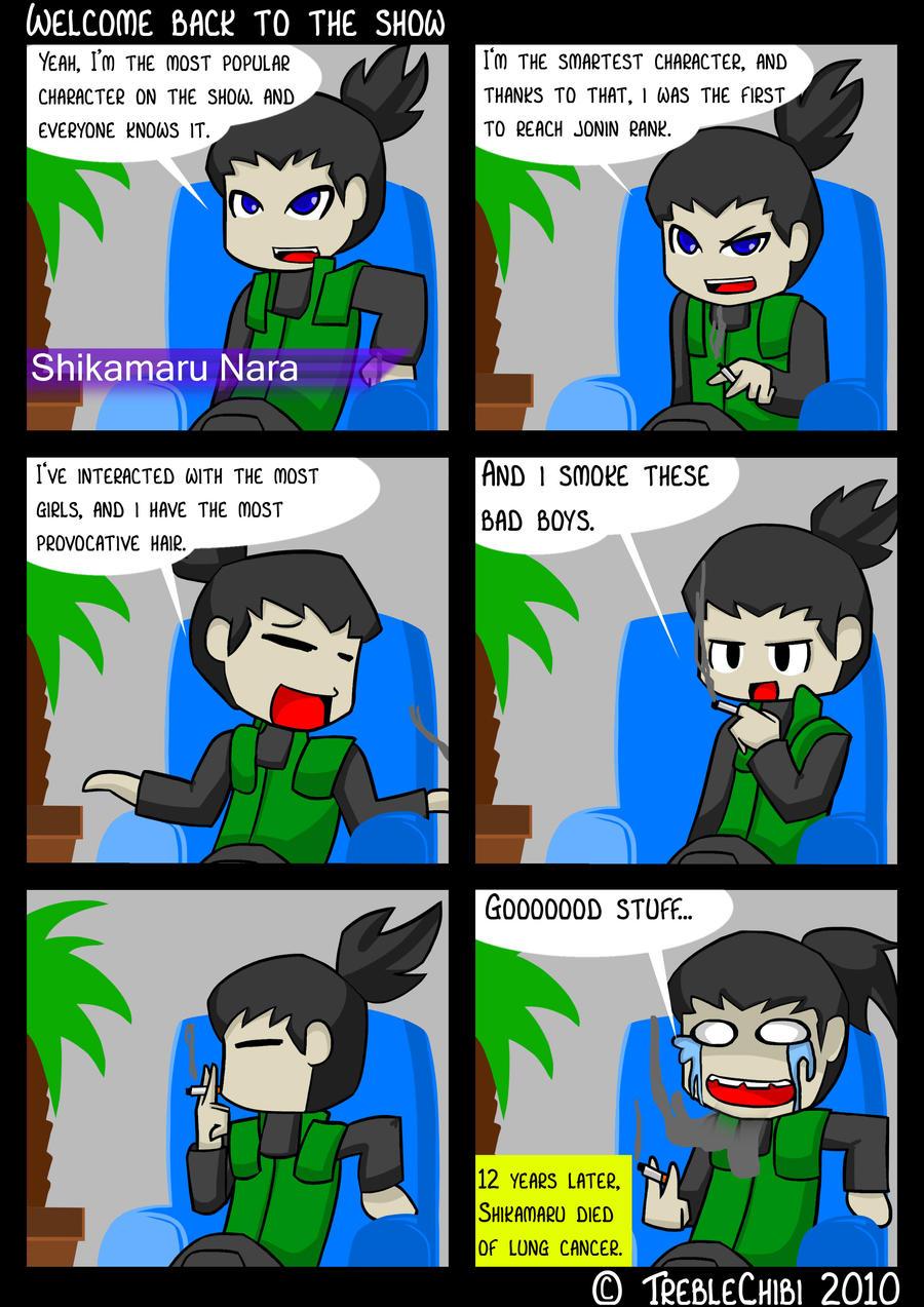Interview With Shikamaru Nara by DukeStewart