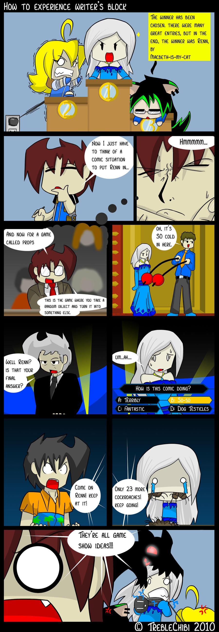 The Winning Comic by DukeStewart