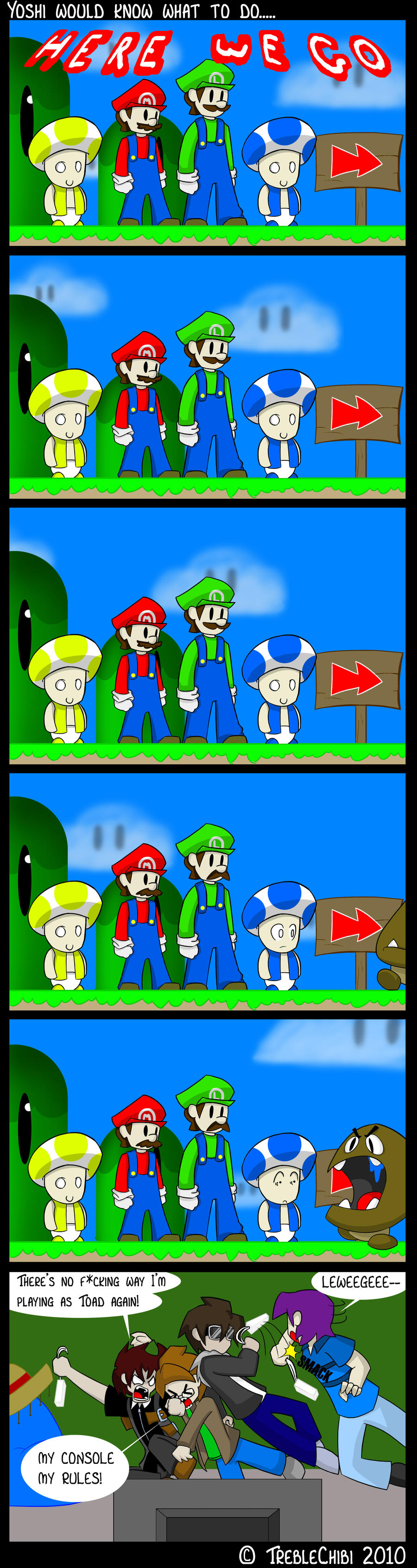 Super Mario Bothers by DukeStewart