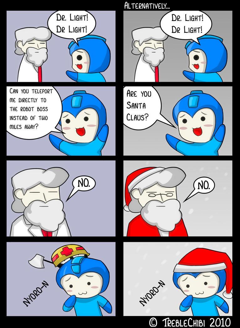Megaman States The Obvious. by DukeStewart