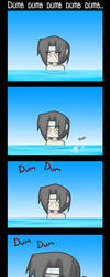 Itachi Goes Swimming by DukeStewart