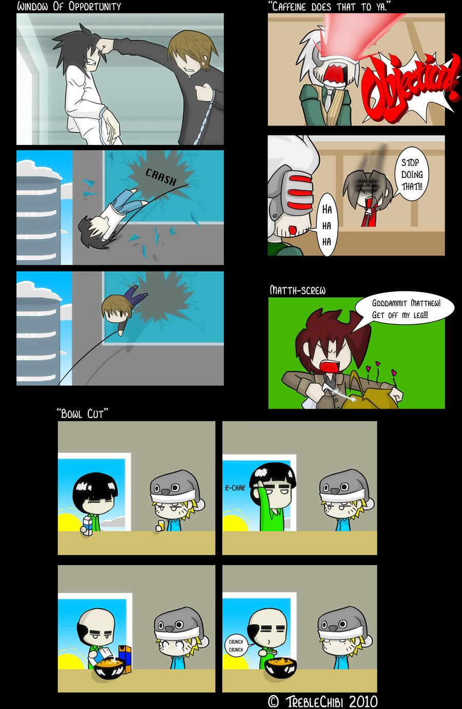 Anime Comic Sh-t 2 by DukeStewart