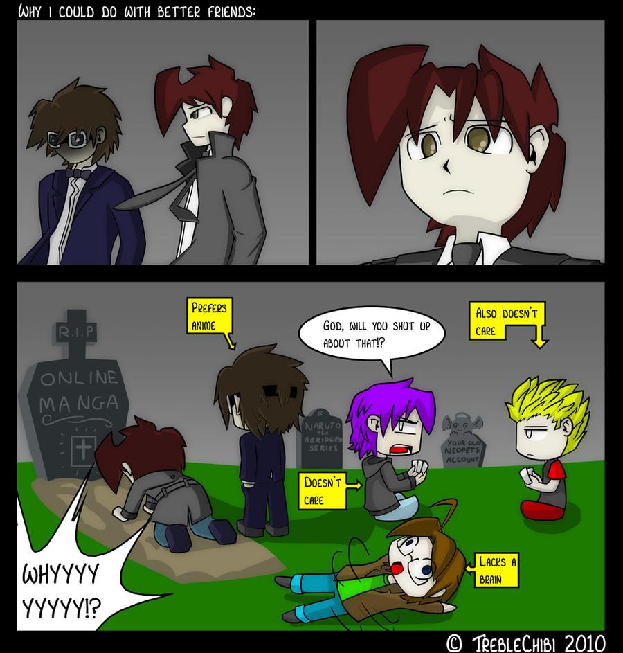 Goodbye, Online Manga by DukeStewart
