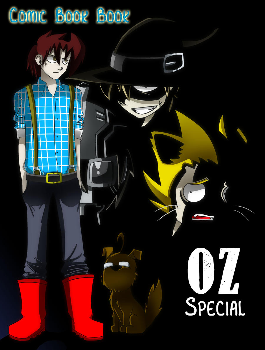 Comic Book Book 21: OZ Special by DukeStewart