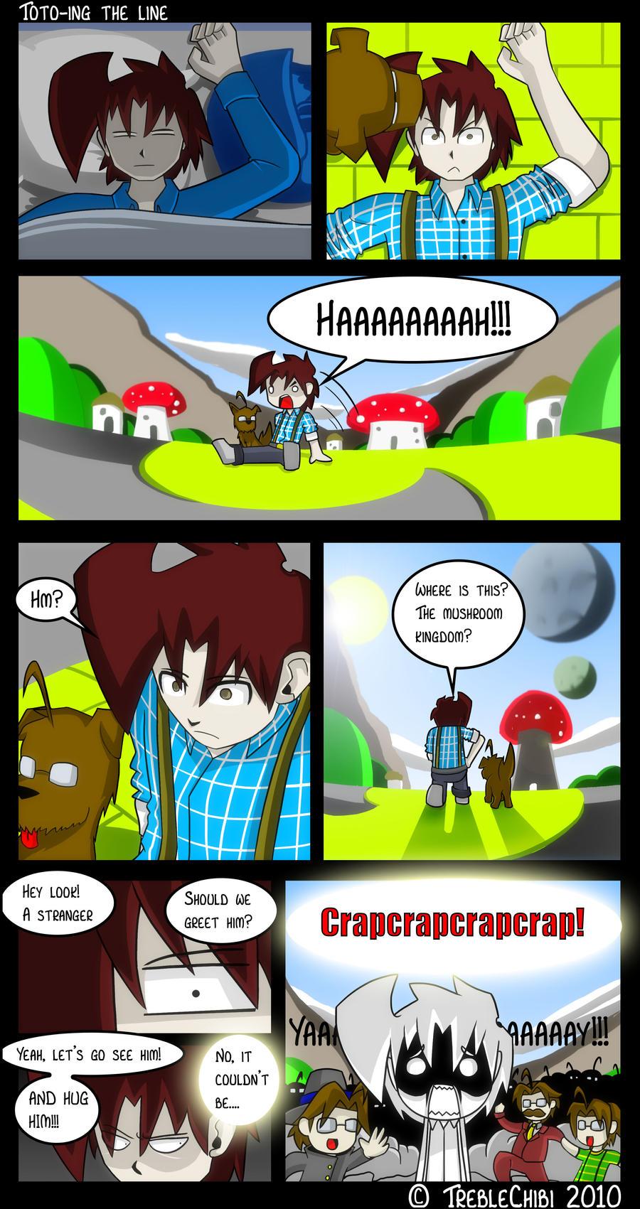 Comic Book Book 22: Oz Special by DukeStewart