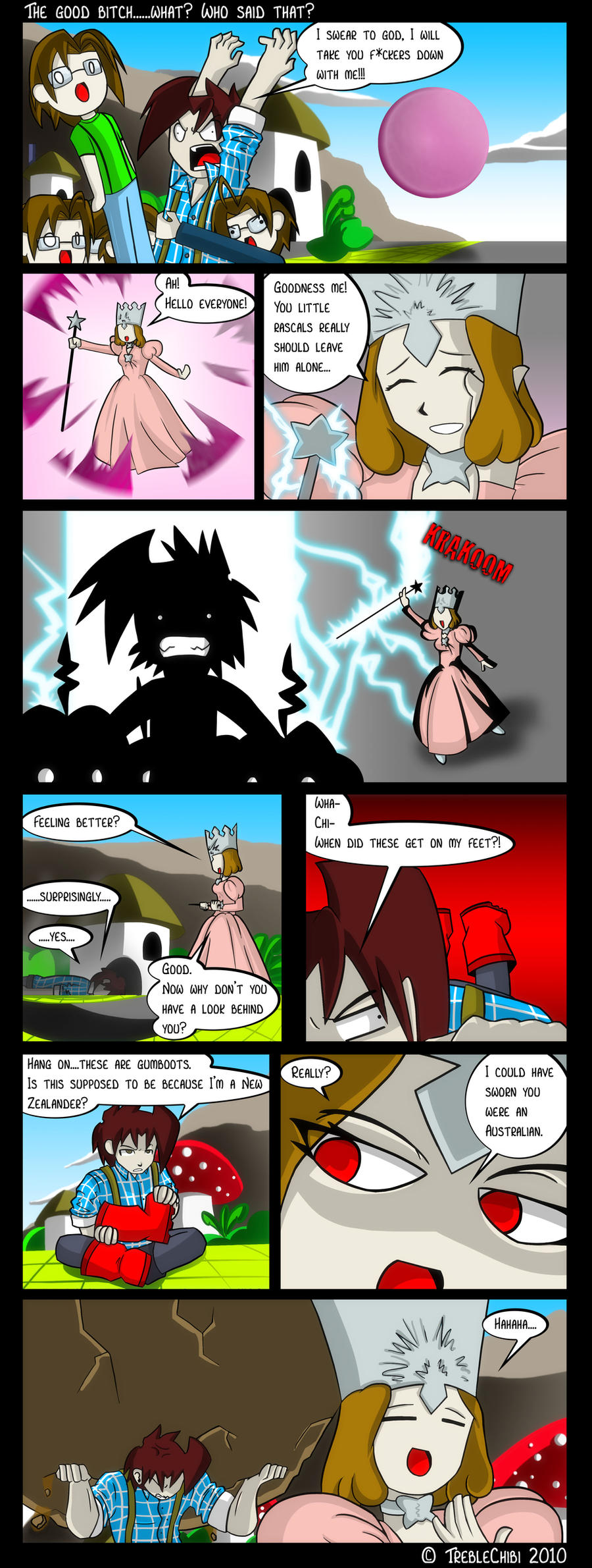 Comic Book Book 23: Oz Special by DukeStewart