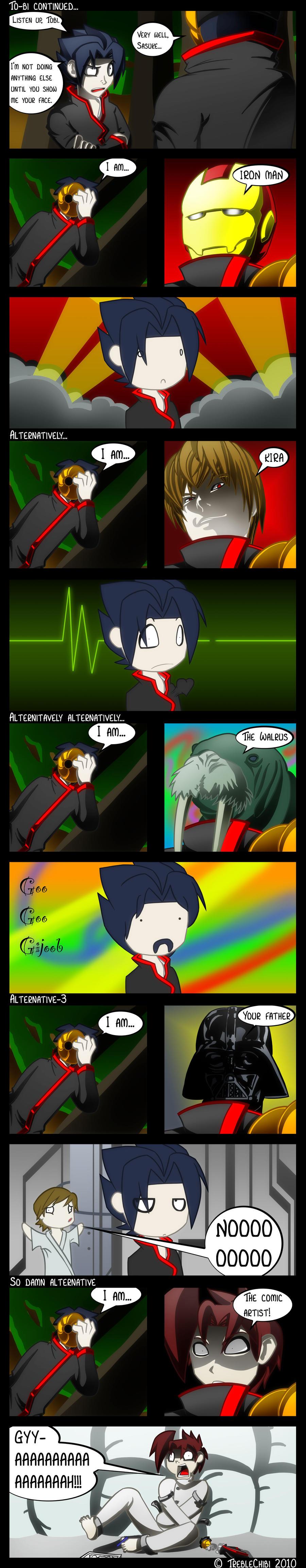 Comic: Tobi's Real Face by DukeStewart