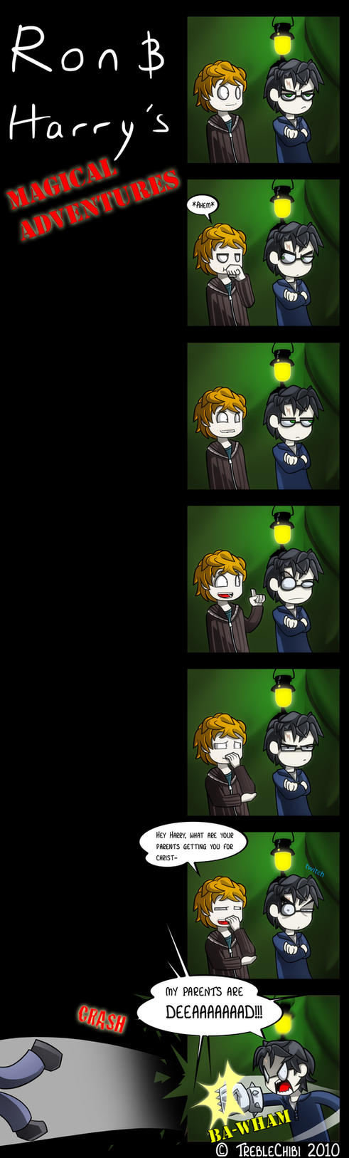 Ron And Harry's Adventures by DukeStewart