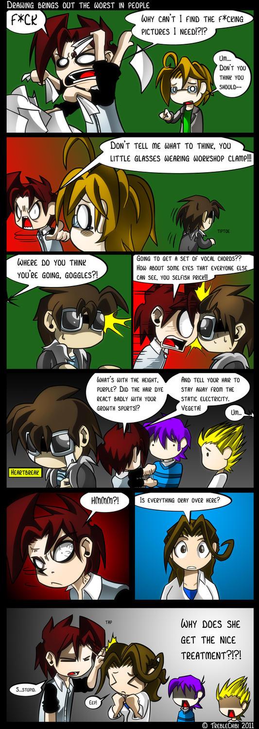 Comic Book Book 33 by DukeStewart