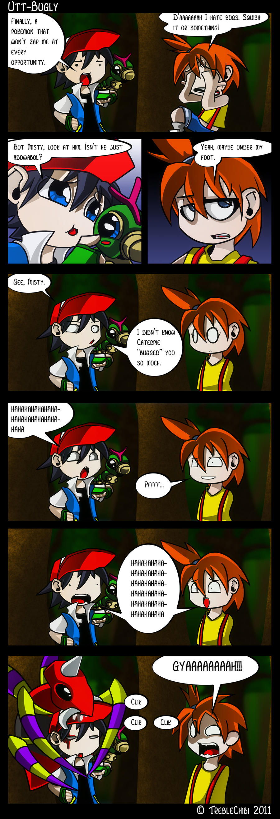 Misty Hates Bug Pokemon by DukeStewart