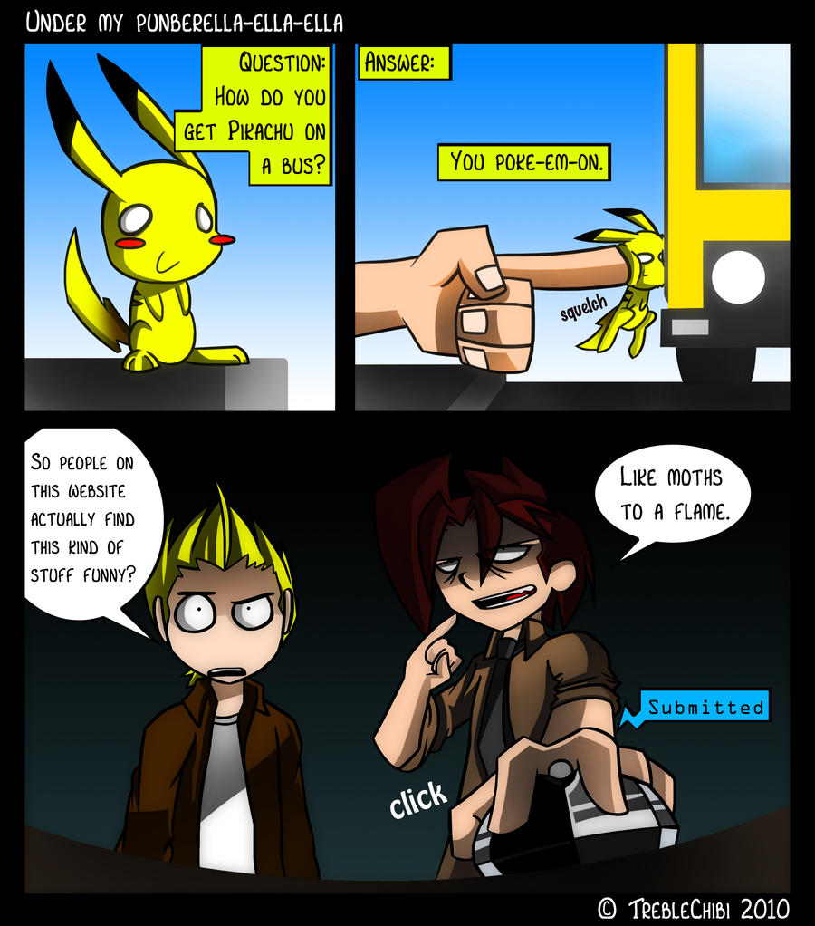 How does Pikachu get on a bus by DukeStewart
