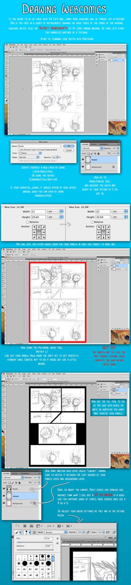 WebComics: Panels And Lineart by DukeStewart