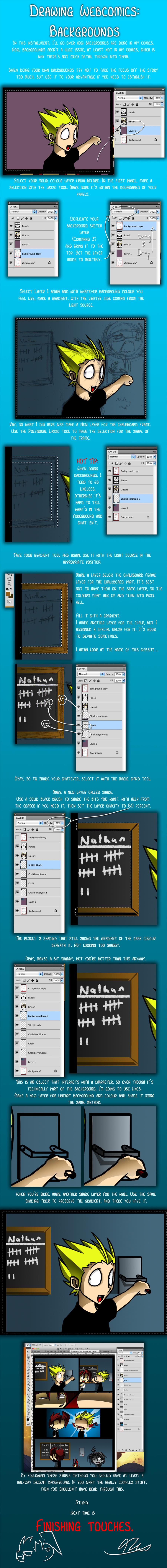 Webcomics: Backgrounds by DukeStewart