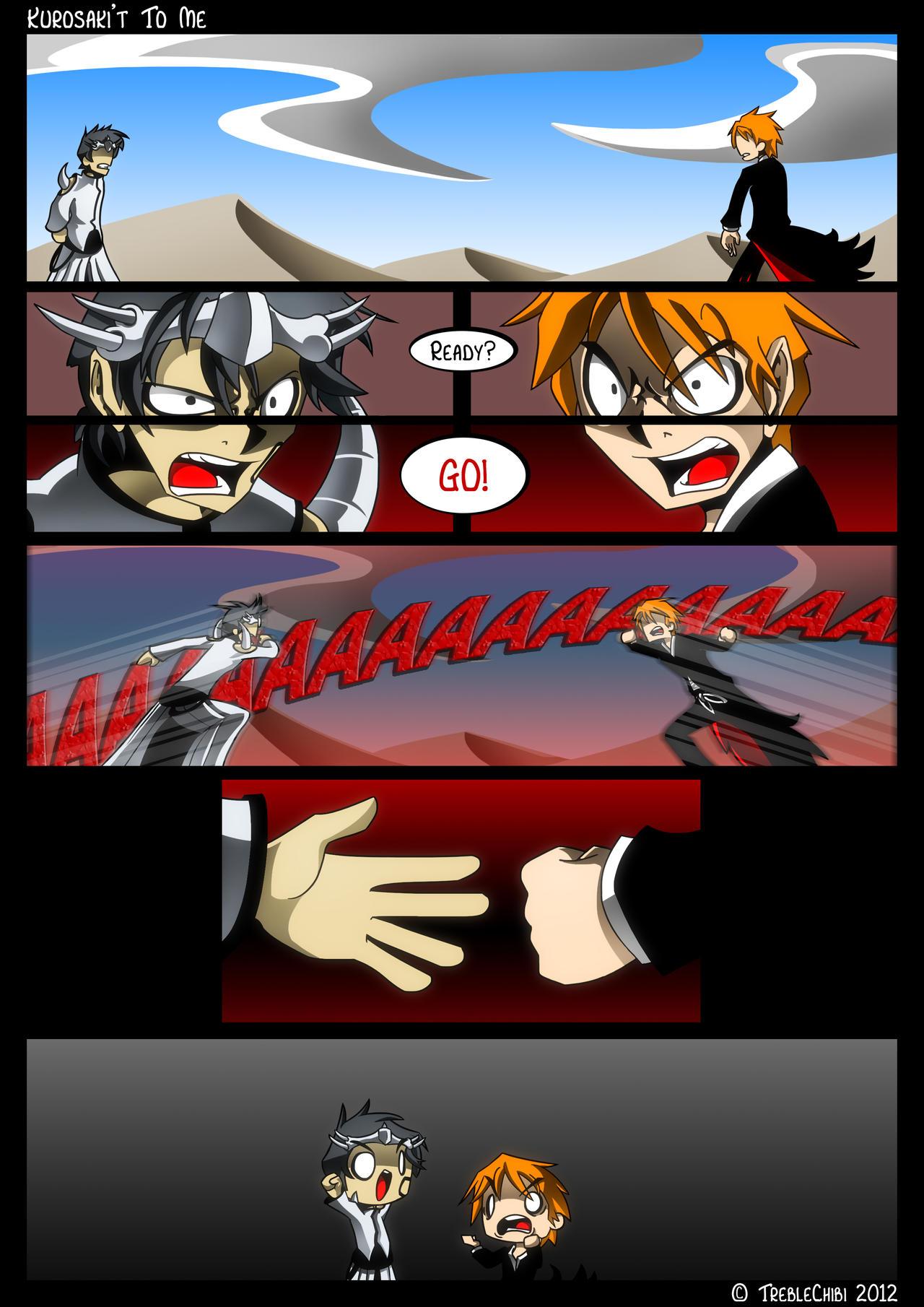 Bleach Comic Commission by DukeStewart