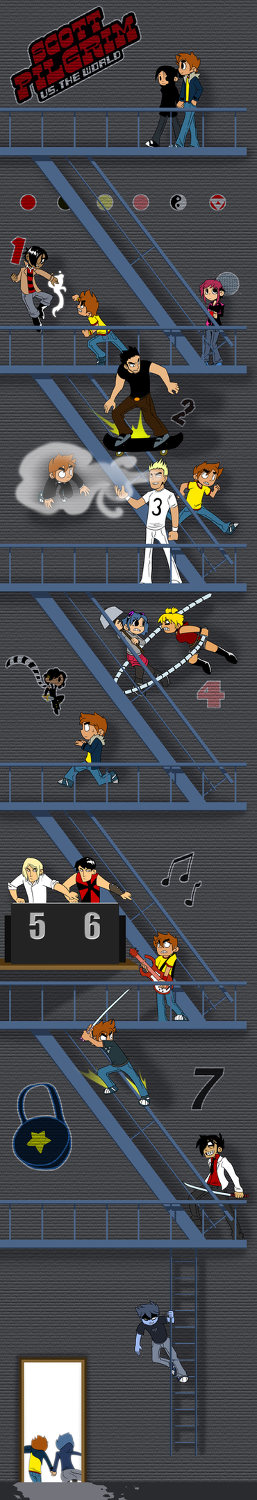 Scott Pilgrim vs the World by DukeStewart