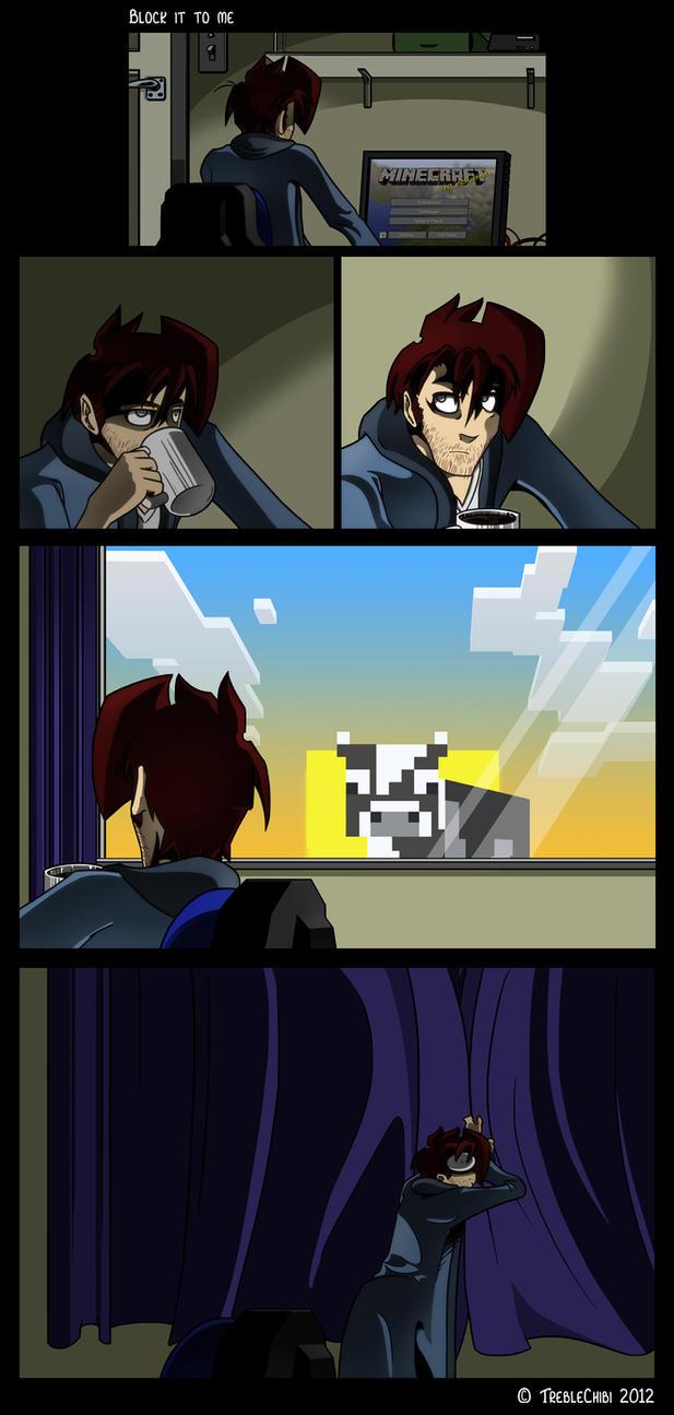 MineCraft Comic by DukeStewart