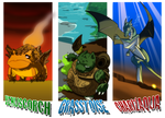 Alternate Universe Pokemon by DukeStewart