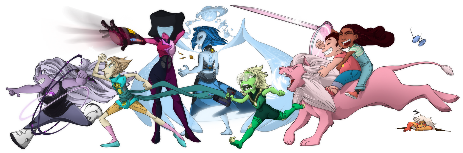 Crystal Gems by DukeStewart