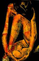 Goldfish Woman by DougBaltz