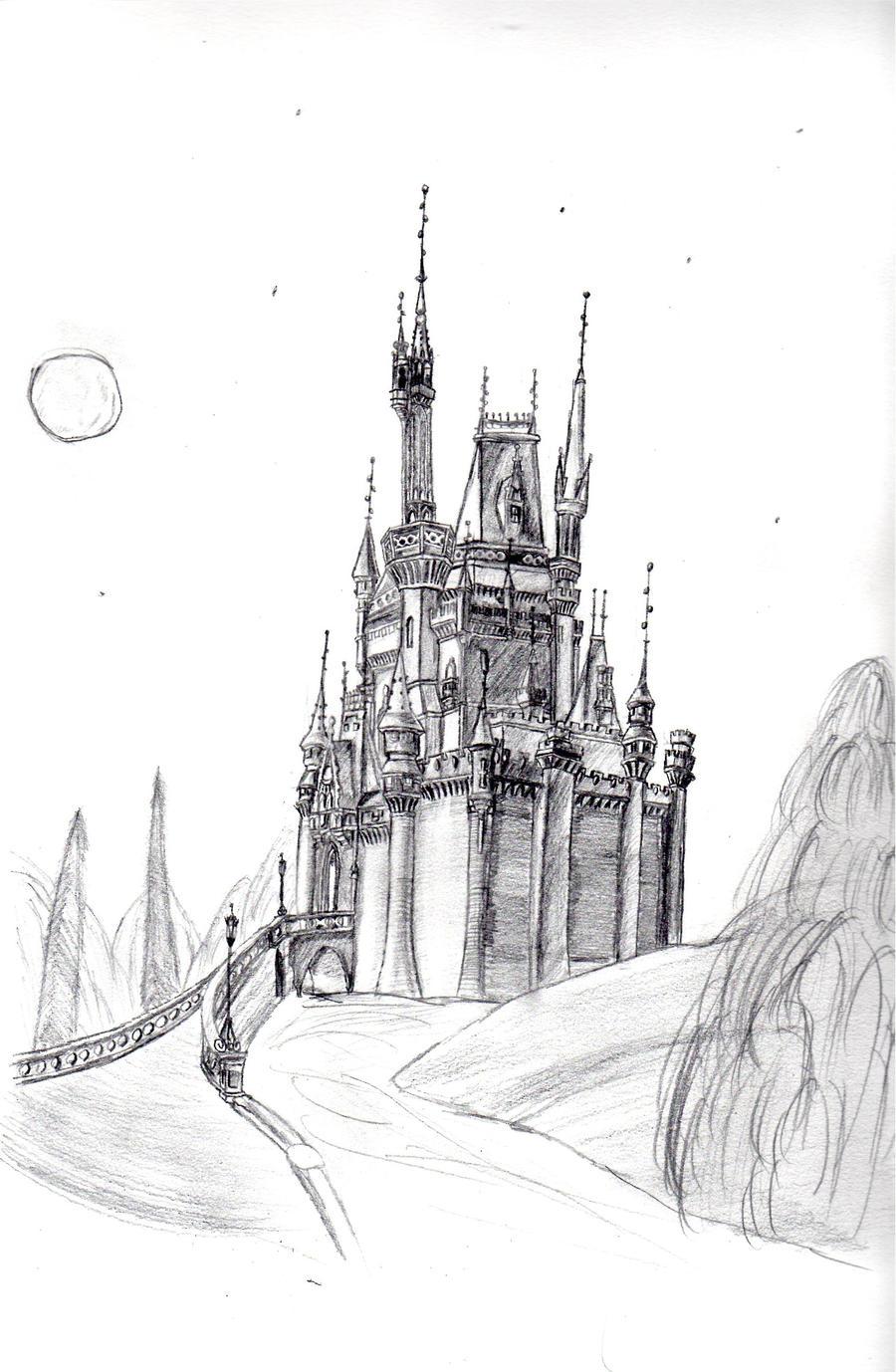 Cinderellas Castle By FalseDisposition On DeviantArt