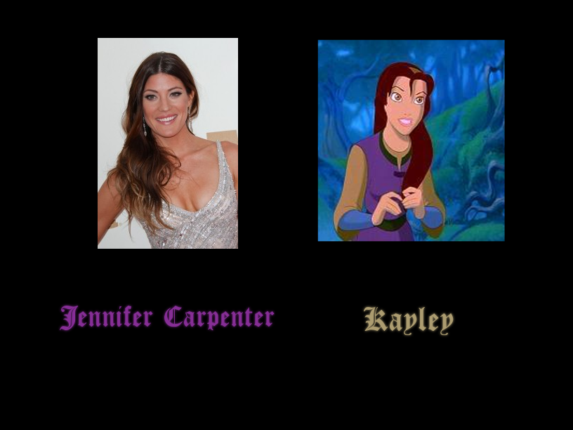 Kayley - Jennifer Carpenter by FalseDisposition