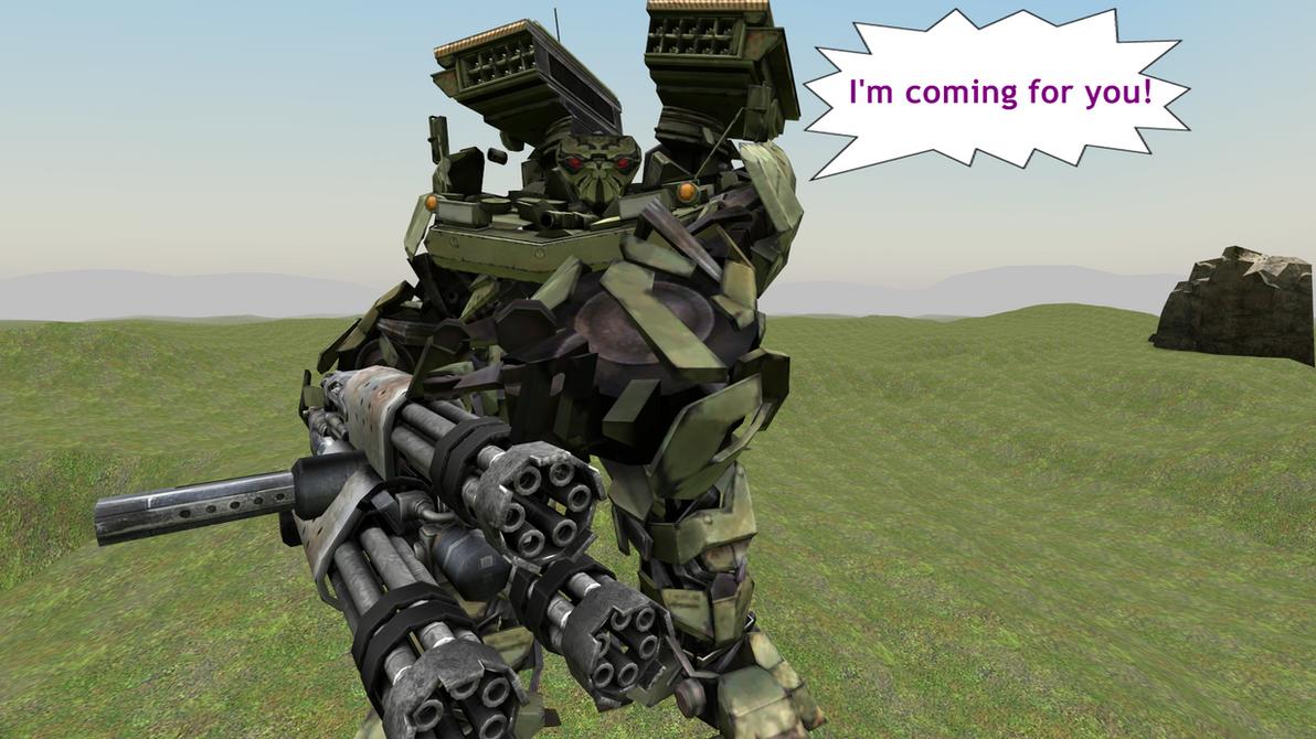 Combaticon Warrior-Now in the Steam Workshop! by MaddogSamureye