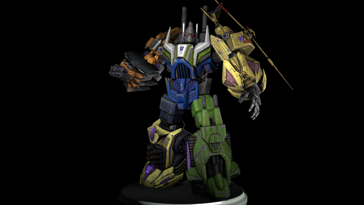 Fall of Cybertron: Bruticus by MaddogSamureye