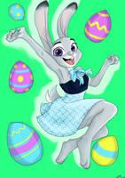 Easter Hopps by GiftedLion