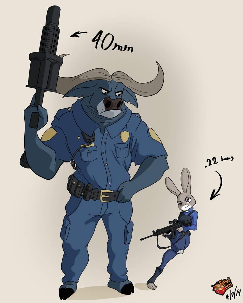 ZPD SWAT by GiftedLion