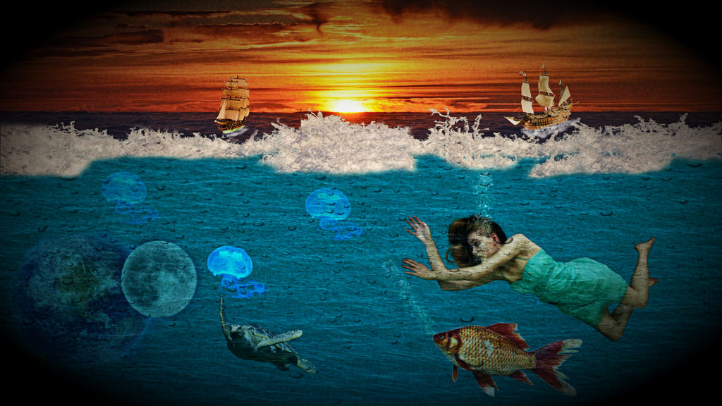 Planet under water by suedseeengel