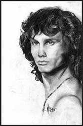 Jim Morrison by MyaKya