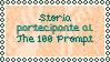 The One Hundred Prompt Stamp by ReiAndSanzo