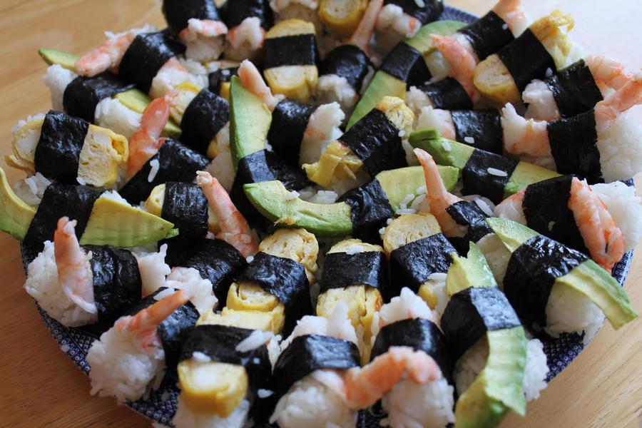 Homemade sushi by joyshot