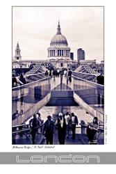 London Collection: Millennium Bridge-St Paul's