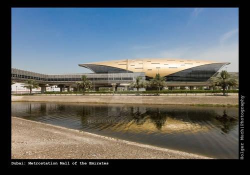 Dubai: Metrostation Mall of The Emirates