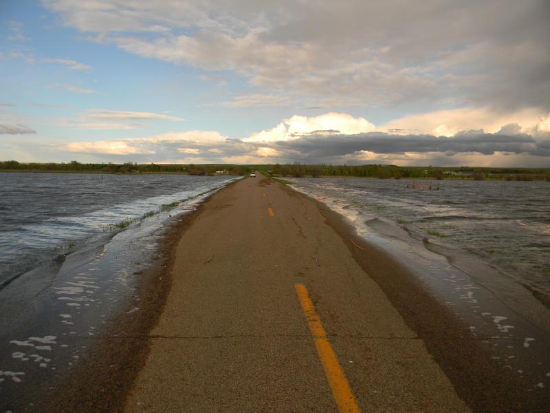 Flooded Road by SweetlySecret