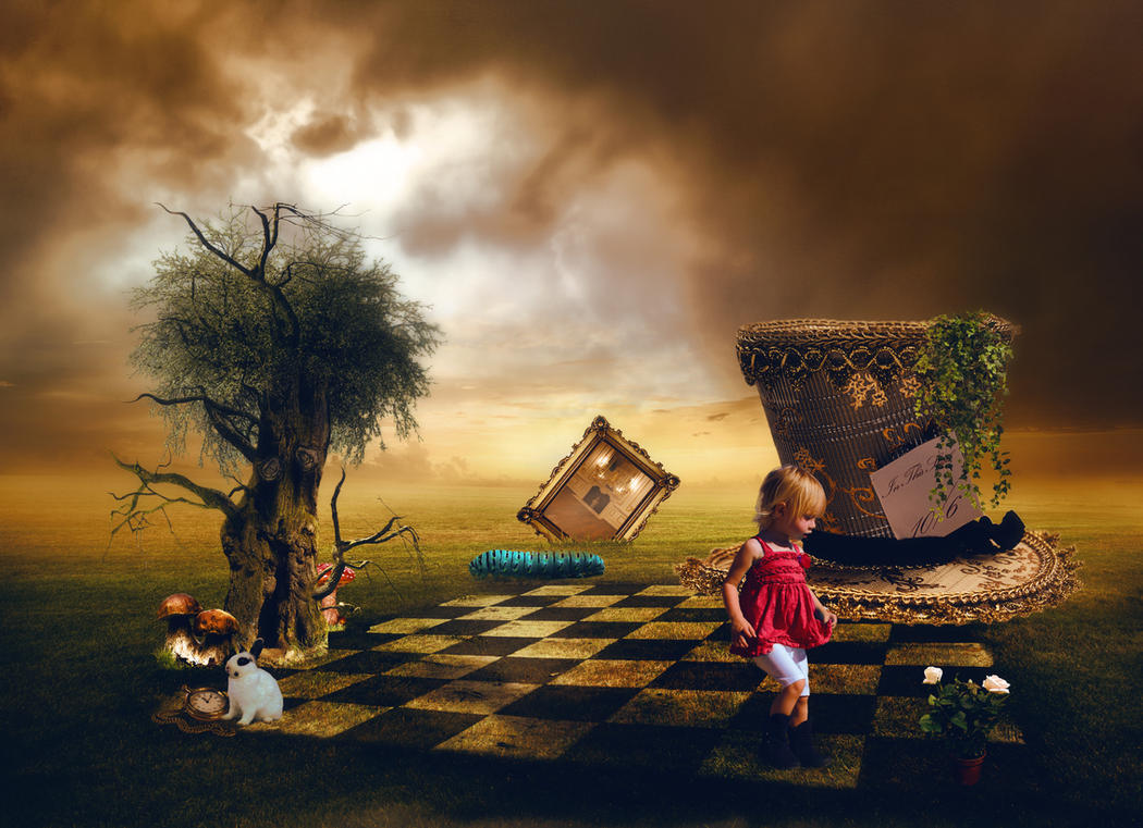 Chloe in Wonderland by SweetlySecret