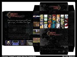 Chrono Trigger - game box by Lita-Makoto