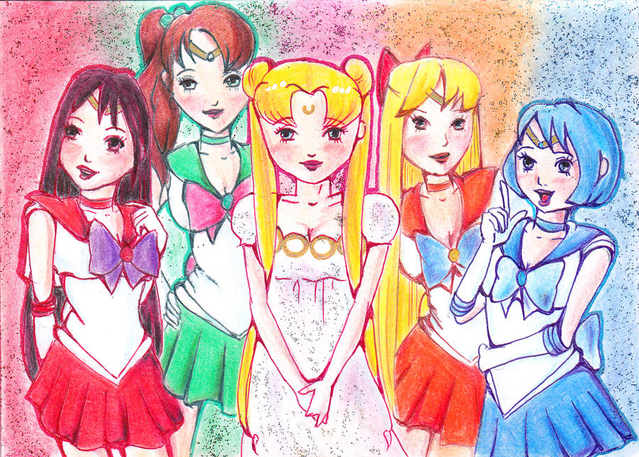 Sailor Moon Inner Group