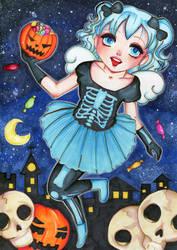 Susu for halloween by Kamihana86