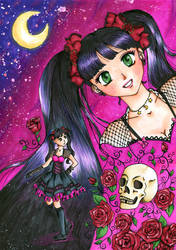 Redraw from Gothic love pink