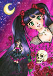 Redraw from Gothic love pink by Kamihana86