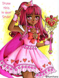 Draw this in your style - Magical Girl Naiya
