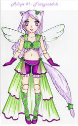 Adoptable #1 (open) - Fairycatdoll