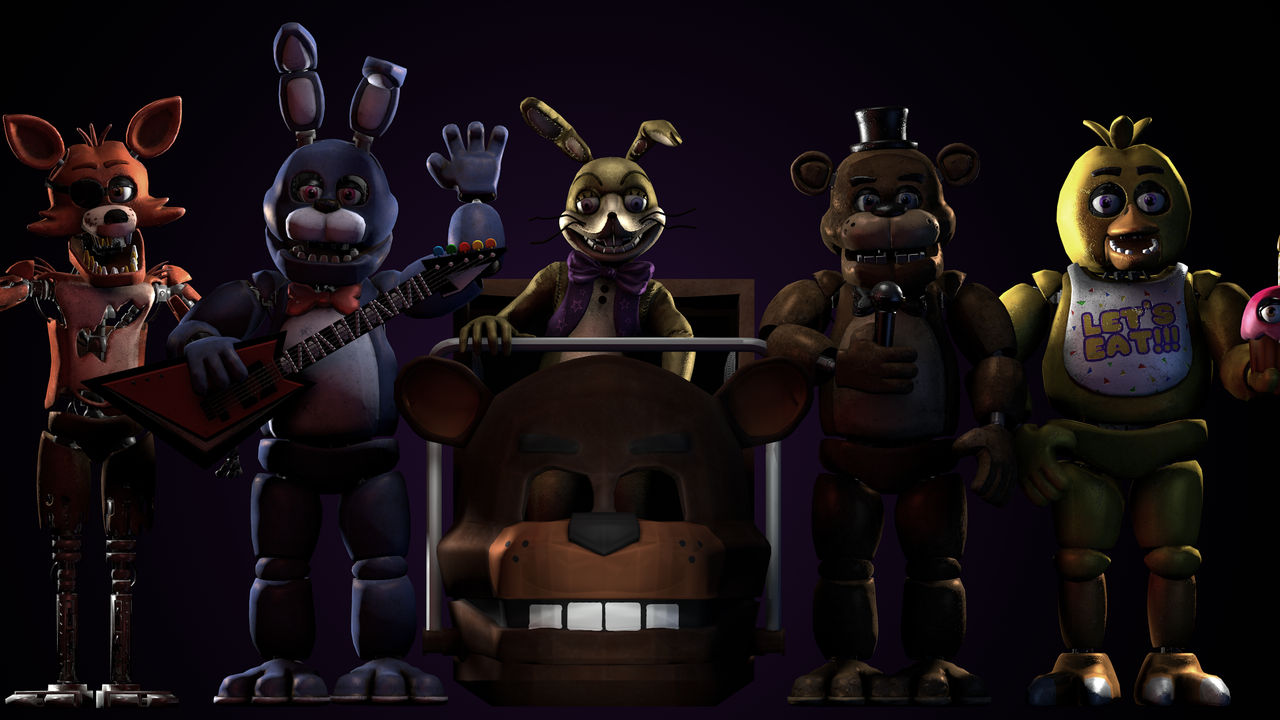 c4d)Download Fnaf Help Wanted Models no root by