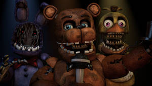 (C4D/FnafHW)Withered Animatronics download no root
