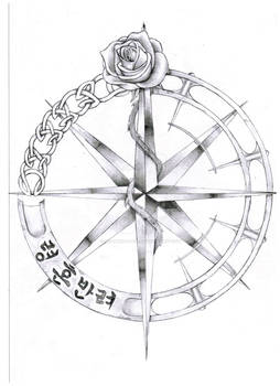 Compass and Rose