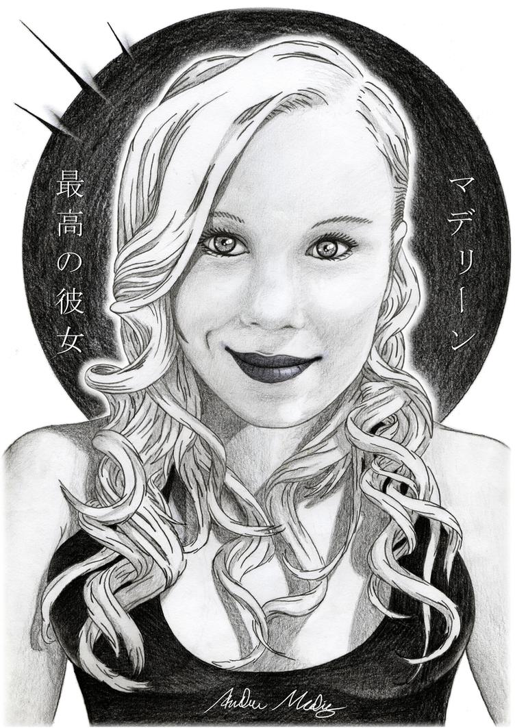 Portrait - Madelene (saigou no kanojo) by BrakeHeart