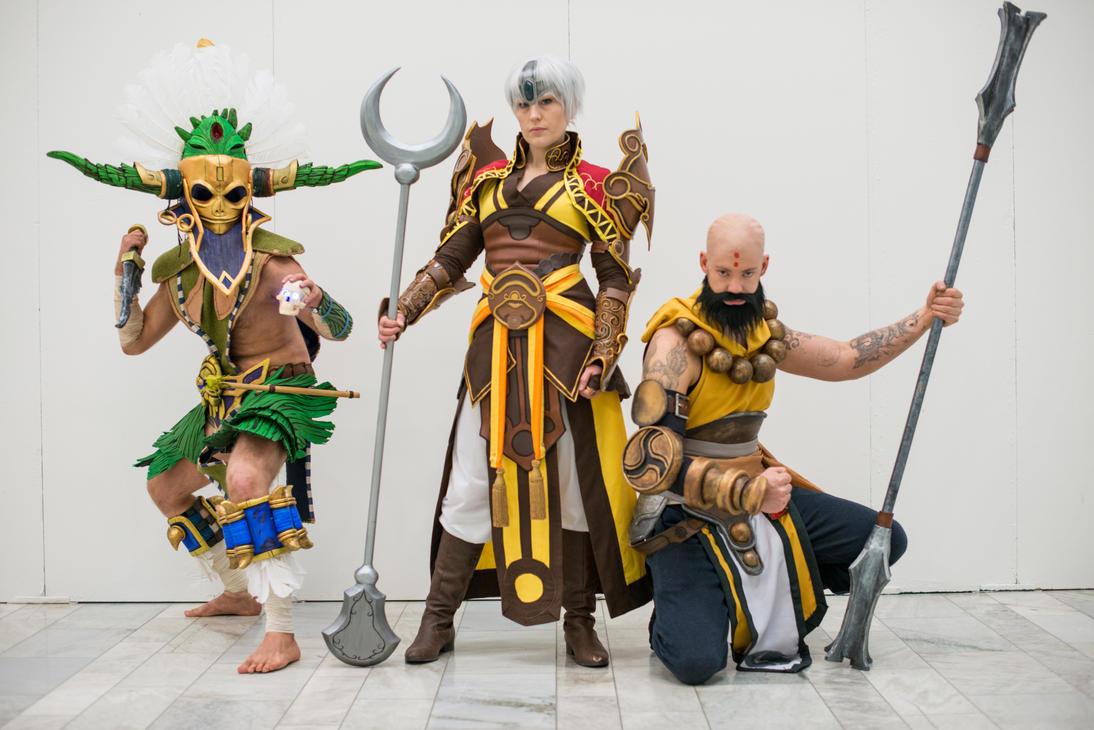 Swedish Diablo III cosplay group by BrakeHeart